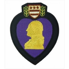 Patch Stop Patch Purple Heart 3 in