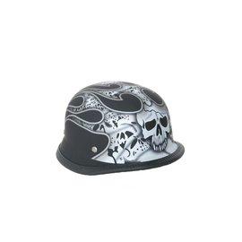 Daniel Smart Mfg German Style Novelty Helmet Skulls