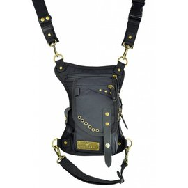 Ukoala Bags Ukoala Bag Phoenix Compact Black