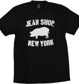 The Jean Shop Jean Shop Slub Stencil Pig Tee