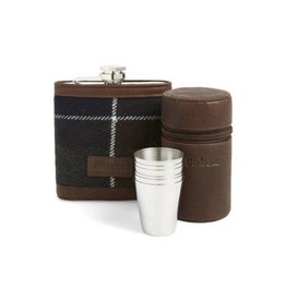 Barbour Barbour Tartan Hip lask & Cups