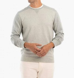 Johnnie-O Johnnie-O Pacey Striped Heathered Crewneck