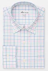 Peter Millar Peter Millar Crown Ease Stretch Oak Bluffs Tattersall Sport Shirt