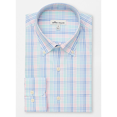 Peter Millar Peter Millar Crown Soft Old Town Multi Gingham