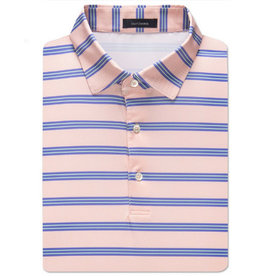 OliVER RiDLEY Oliver Ridley Checker Stripe Pefromance Polo