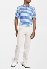 Peter Millar Peter Millar All The Way Donegal Stripe Stretch Piqué Mesh Polo