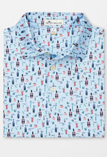 Peter Millar Peter Millar Crawford Printed Bloody Mary Stretch Jersey Polo