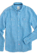 Johnnie-O Johnnie-O Mackle Linen Hangin' Out Button Down Shirt