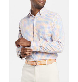 Peter Millar Peter Millar Naylor Check Performance Stretch Sport Shirt