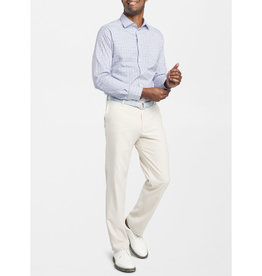 Peter Millar Peter Millar Ollie Performance Mini-Plaid Sport Shirt
