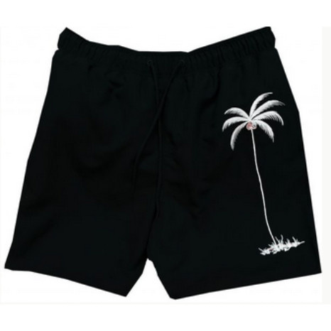 Bamboo Cay Bamboo Cay Single Palm Swim Shorts