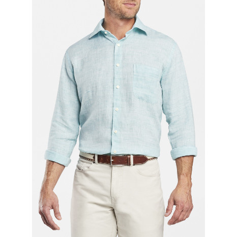 Peter Millar Peter Millar Crown Cool Linen Sport Shirt