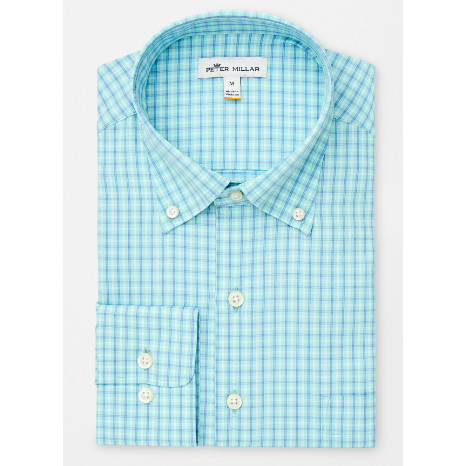 Peter Millar Peter Millar Hugh Tattersall Performance Stretch Sport Shirt