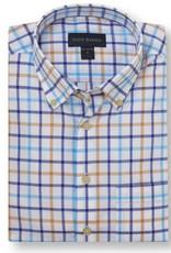 Scott Barber Poplin Check Shirt