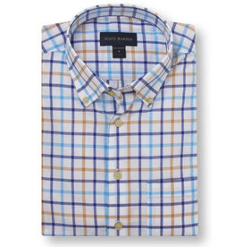 Scott Barber Poplin Check Shirt