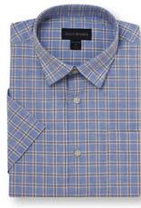 Scott Barber Poplin Mélange Check Shirt
