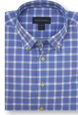 Scott Barber Newport Poplin Check Shirt