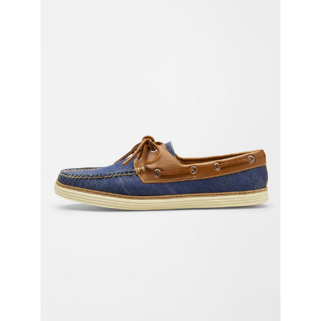 Peter Millar Peter Millar Washed Canvas Boat Shoe
