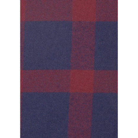 Mizzen+Main Mizzen + Main Tonto Navy Burgundy Check Flannel