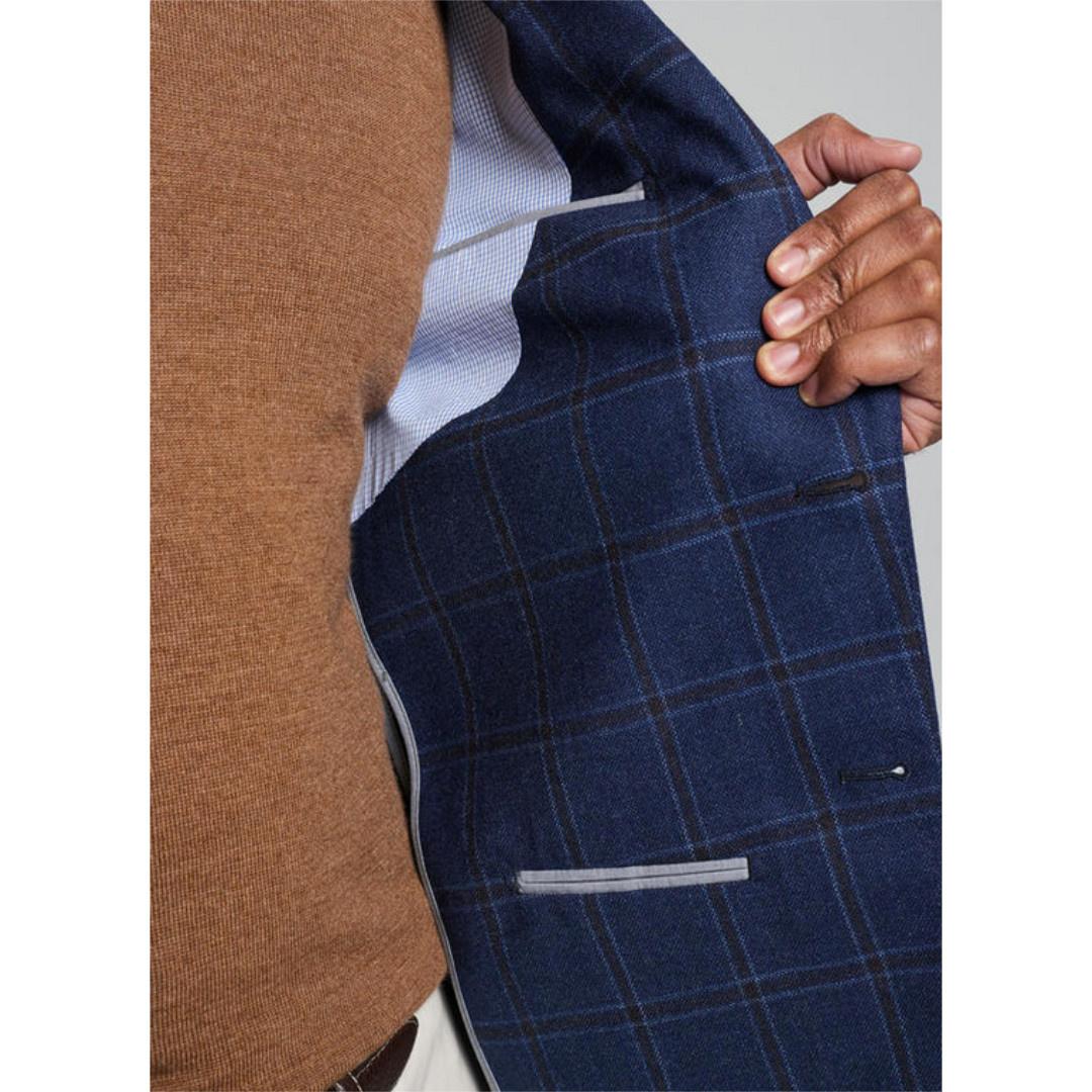 Peter Millar Peter Millar Classic Windowpane Soft Jacket