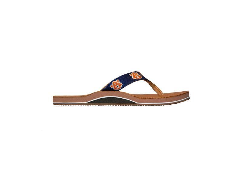 Smathers & Branson Smathers & Branson Auburn Needlepoint Flip Flops