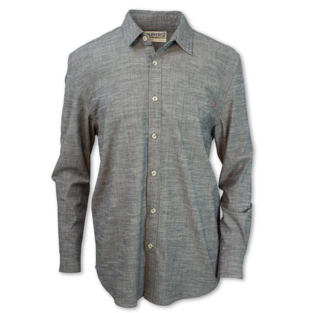 Purnell Purnell Indigo Chambray Shirt