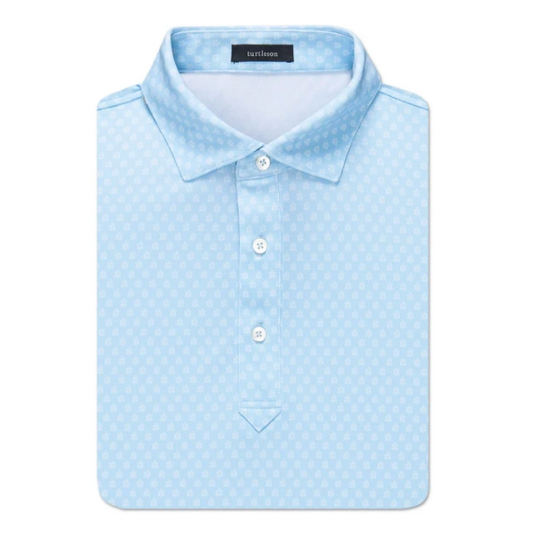 Turtleson Turtleson Clutch Turtle Performance Polo