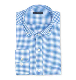 Turtleson Turtleson Taylor Gihngham Performance Sport Shirt