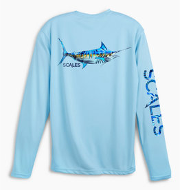 Scales Scales Tropical Marlin Performance L/S