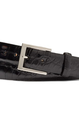 "W.Kleinberg W Kleinburg 1 3/8"" Glazed Alligator Belt 3612N Buckle"
