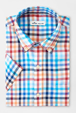 Peter Millar Peter Millar Galleon Cotton Short-Sleeve Sport Shirt