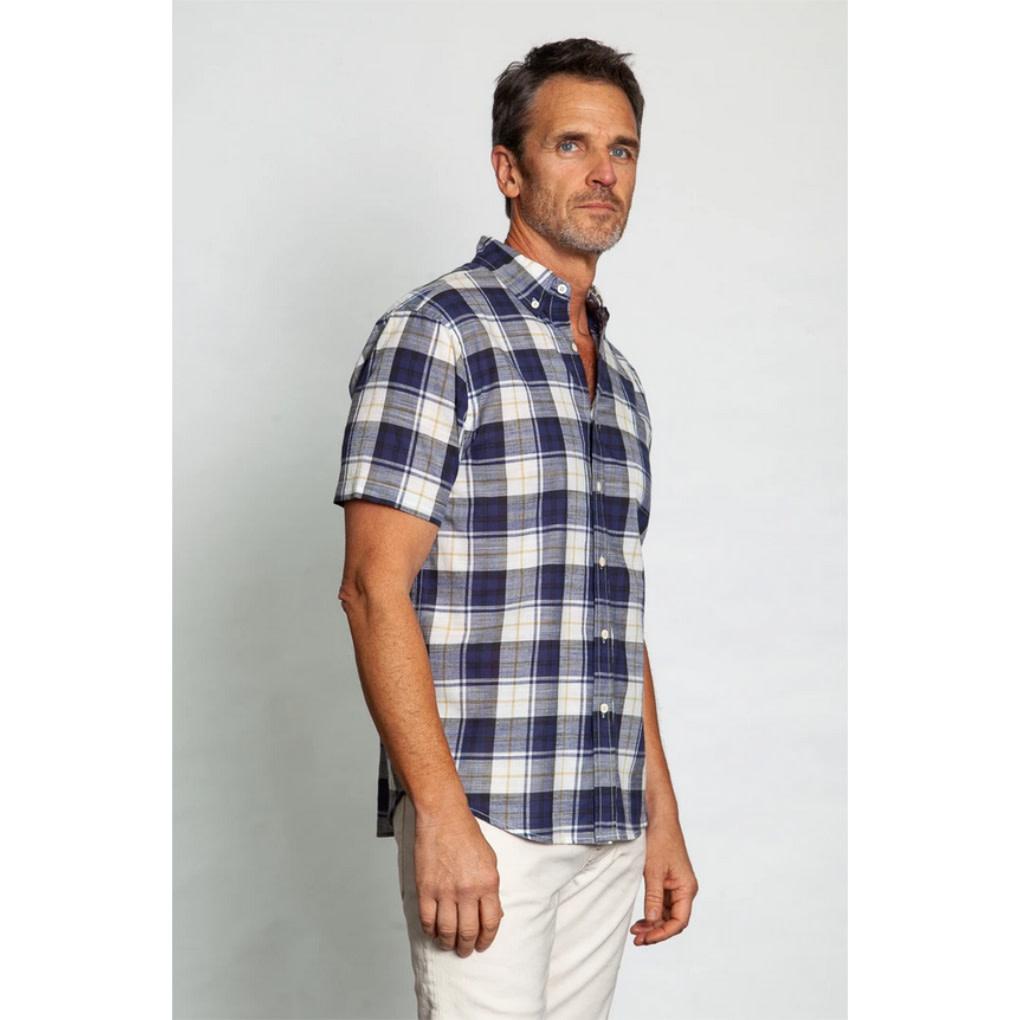 True Grit True Grit Cape Cod Checks 1 Pkt Shirt
