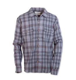 Purnell Purnell Double Pocket Plaid Wool Shirt