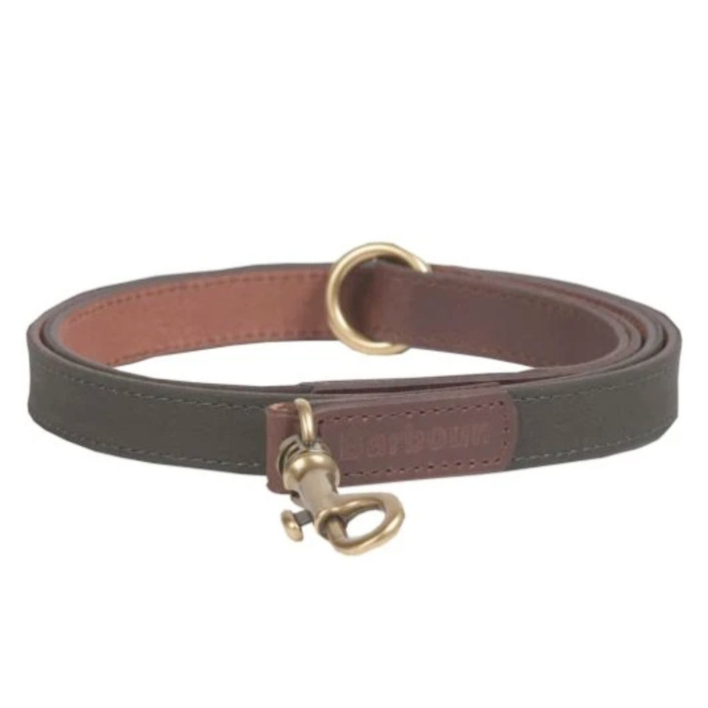 Barbour Barbour Wax/Leather Dog Collar Lead
