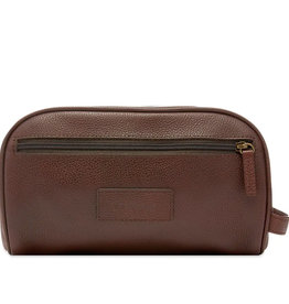 Barbour Barbour Leather Wash Bag