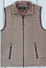 True Grit True Grit Herringbone Fleece Vest