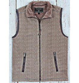 True Grit True Grit Herringbone Fleece Vest