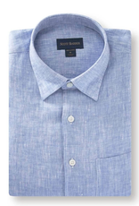 Scott Barber Scott Barber Linen Soft Spread Collar