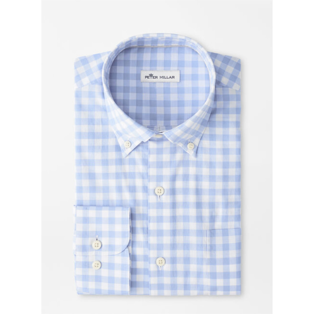Peter Millar Crown Vintage Cotton Hudson Sport Shirt
