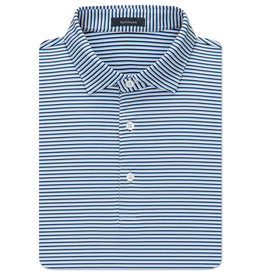 Turtleson Turtleson Conner Stripe Performance Polo