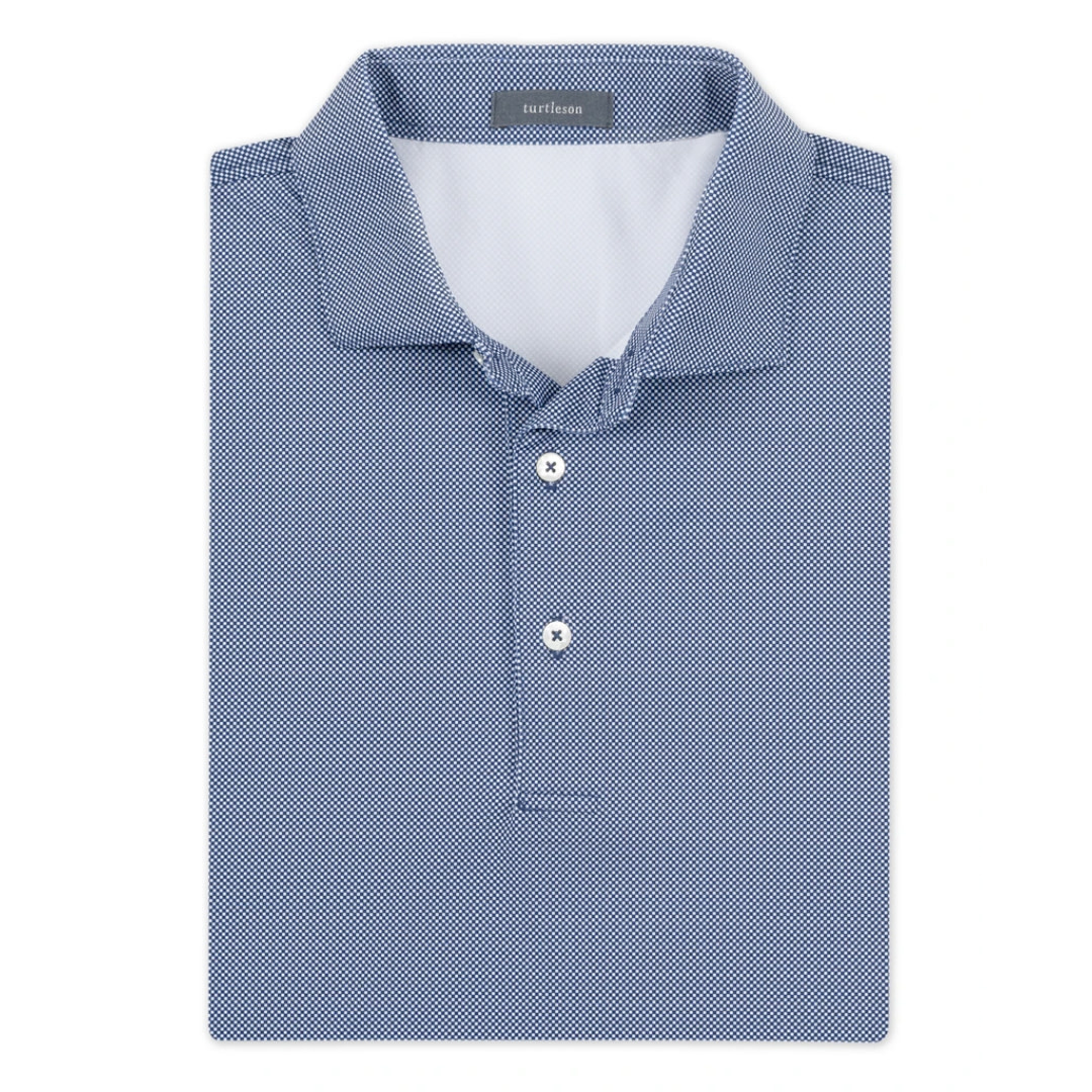 Turtleson Turtleson Beckett CheckPerformance Polo