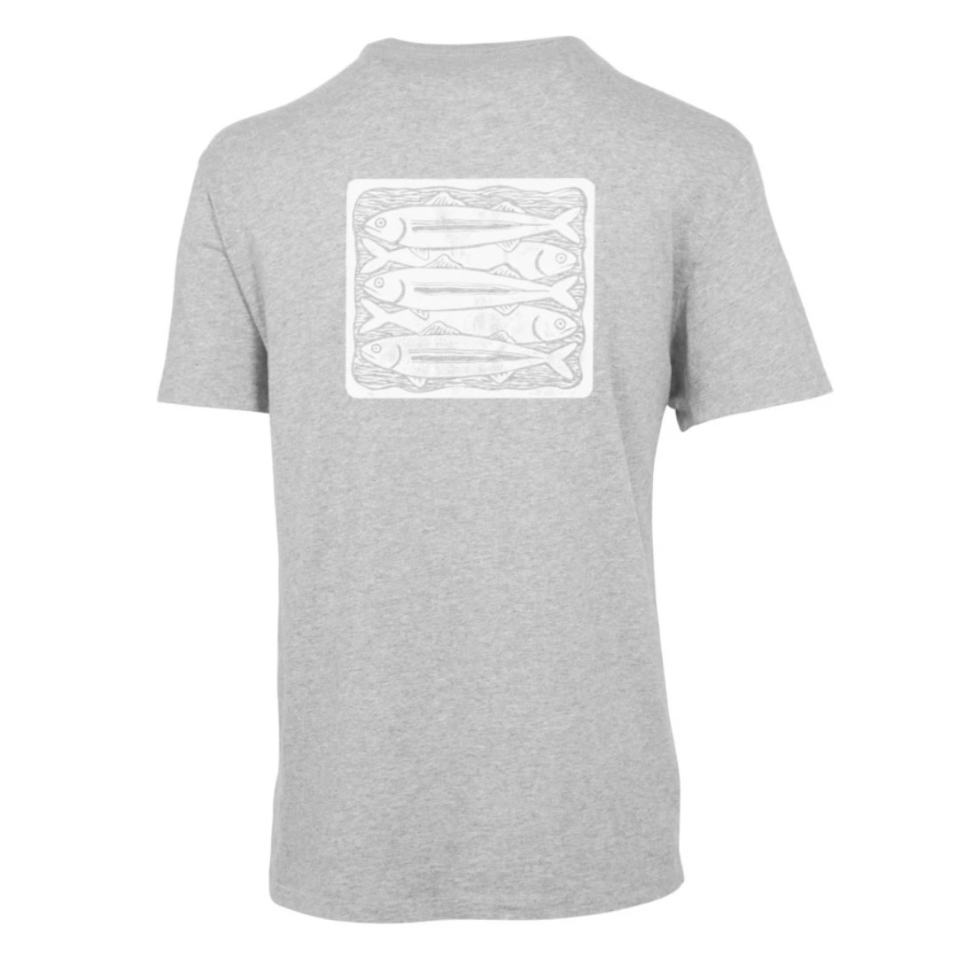Purnell Purnell Performance Knit Fish Stack Crew