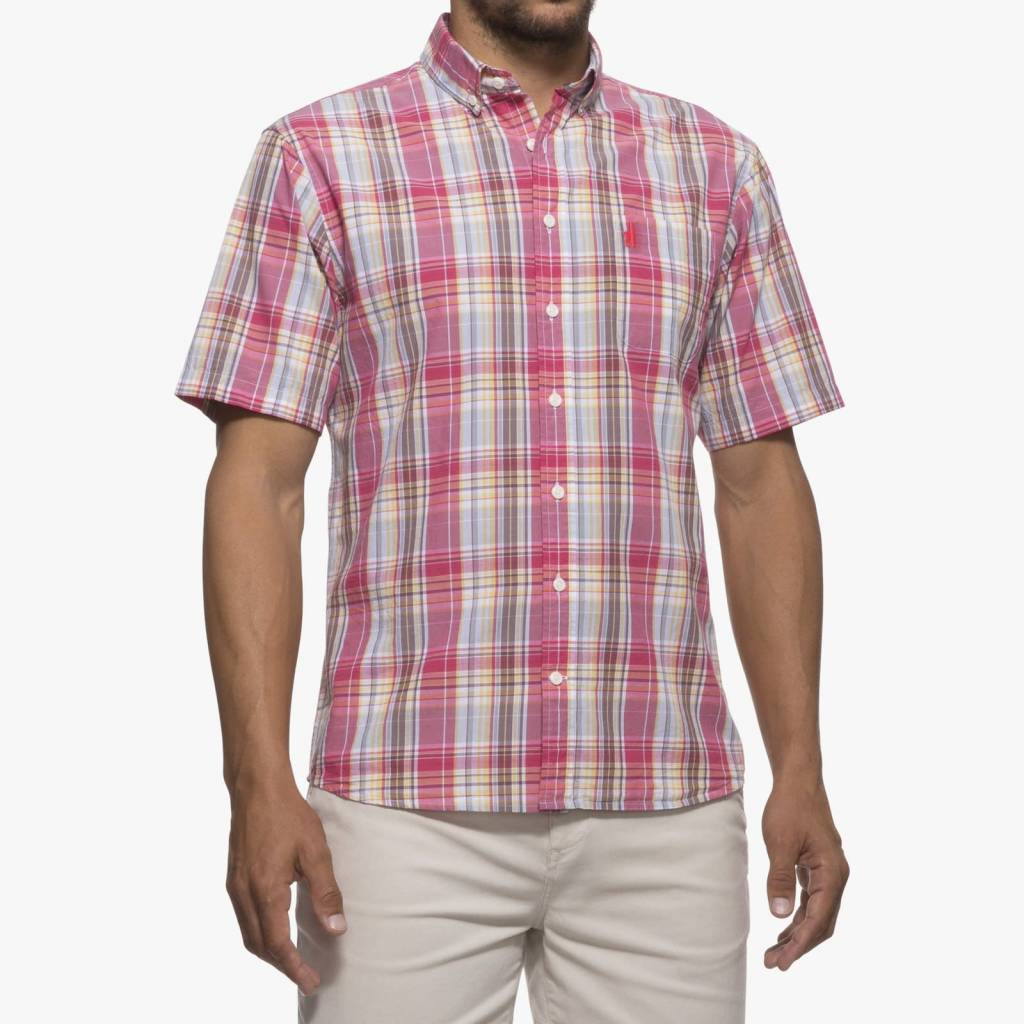 Johnnie-O Johnnie-O Glenn Hangin' Out Short Sleeve Button Down Shirt