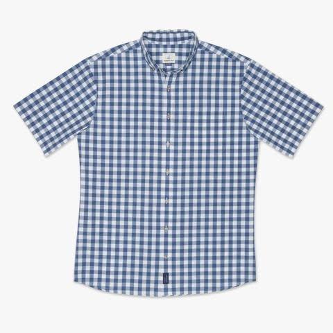 Johnnie-O Johnnie-O  Watts Hangin' Out Short Sleeve Button Down Shirt
