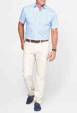 Peter Millar Peter Millar Seaside Cotton-Linen Five-Pocket Pant