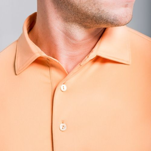 Peter Millar Peter Millar Solid Stretch Jersey Sean Collar Polo