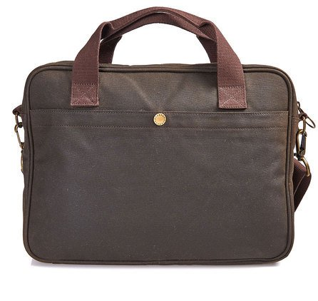 Barbour Barbour Wax Longthorpe Laptop Bag