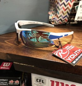 Rawlings Youth White/Blue Sunglasses