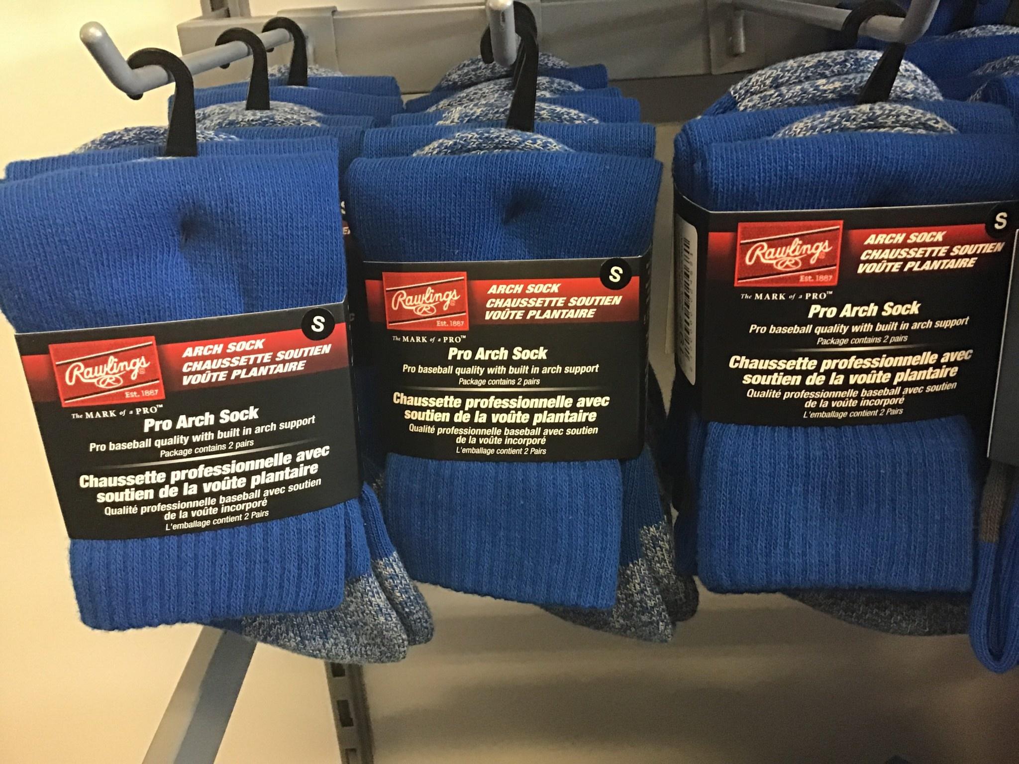 Rawlings Rawlings Baseball Sock - 2 pairs