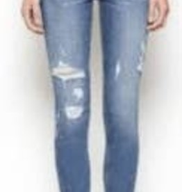 "Three Bird Nest ""Mad About You"" Distressed Skinny Jean"